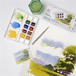 Cotman Watercolour Landscape Pocket Set Thumbnail Image 3
