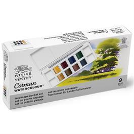 Cotman Watercolour Landscape Pocket Set Thumbnail Image 5