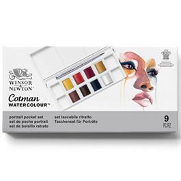 Cotman Watercolour Portrait Pocket Set Thumbnail Image 0