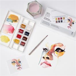 Cotman Watercolour Portrait Pocket Set Thumbnail Image 3
