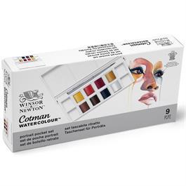 Cotman Watercolour Portrait Pocket Set Thumbnail Image 6
