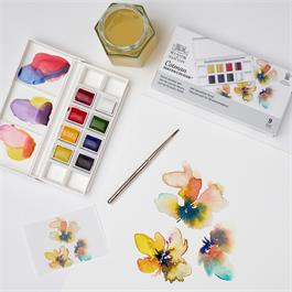 Cotman Watercolour Floral Pocket Set Thumbnail Image 3