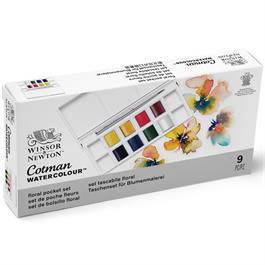 Cotman Watercolour Floral Pocket Set Thumbnail Image 6