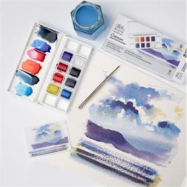 Cotman Watercolour Skyscape Pocket Set Thumbnail Image 3
