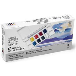 Cotman Watercolour Skyscape Pocket Set Thumbnail Image 6
