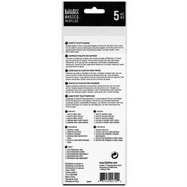 Liquitex Basics Plastic Palette Knife Set Of 5 Thumbnail Image 4