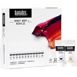 Liquitex Heavy Body Acrylic Essentials Set 12x22ml Thumbnail Image 5