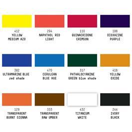 Liquitex Professional Soft Body Acrylic Essentials Set 12x22ml Thumbnail Image 1
