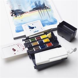 Winsor & Newton Professional Watercolour Field Box 12 Half Pans Thumbnail Image 5