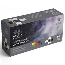 Winsor & Newton Professional Watercolour Field Box 12 Half Pans Thumbnail Image 6