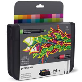 Winsor & Newton Promarker 24 Student Designer Set Thumbnail Image 5