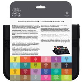 Winsor & Newton ProMarker Assorted Marker Wallet of 24 Thumbnail Image 4