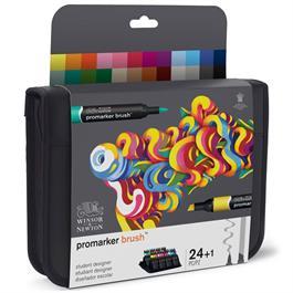 Winsor & Newton BrushMarker Student Designer 24 Set Thumbnail Image 5