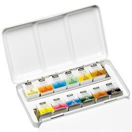 Pebeo Watercolour Pocket Metal Box 12 Half Pans Thumbnail Image 3