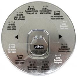 Pebeo Watercolour Classic 12 Half Pan Round Metal Tin Thumbnail Image 3