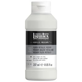 Liquitex Silver Metallic Medium 237ml thumbnail