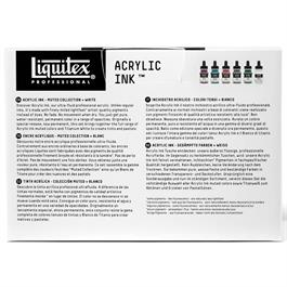 Liquitex Acrylic Ink Set Muted Collection 6x30ml Thumbnail Image 3