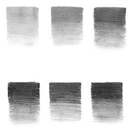 Winsor & Newton Graphite Pencil Tin Of 6 Thumbnail Image 1