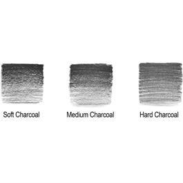 Winsor & Newton Charcoal Pencil Tin Of 6 Thumbnail Image 1