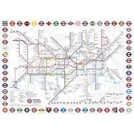 London Underground 500 Piece Gift Jigsaw Puzzle Thumbnail Image 1