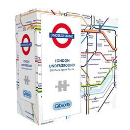 London Underground 500 Piece Gift Jigsaw Puzzle thumbnail