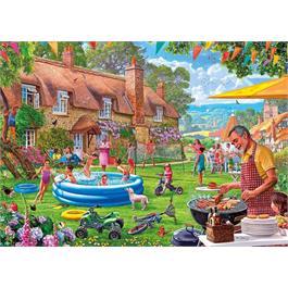 Summer Days 1000 Piece Jigsaw Puzzle Thumbnail Image 1