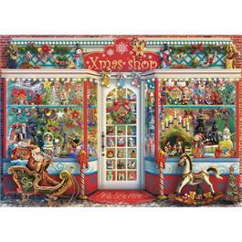 Christmas Emporium 1000 Piece Jigsaw Puzzle Thumbnail Image 1