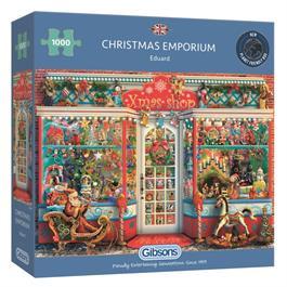 Christmas Emporium 1000 Piece Jigsaw Puzzle Thumbnail Image 0