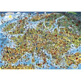 This is Europe 1000 Piece Jigsaw Puzzle Thumbnail Image 1