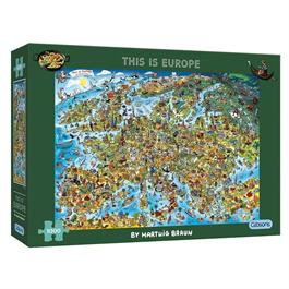 This is Europe 1000 Piece Jigsaw Puzzle thumbnail
