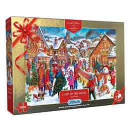 Light Up The Night Limited Edition 2021 1000 Piece Jigsaw Puzzle thumbnail