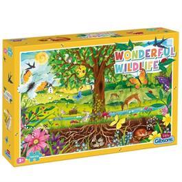 Wonderful Wildlife Children's 100XXL Piece Jigsaw Puzzle thumbnail