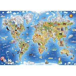 Jigmap Our World Children's 250 Piece Jigsaw Puzzle Thumbnail Image 1