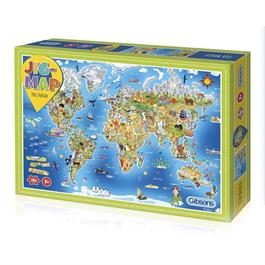 Jigmap Our World Children's 250 Piece Jigsaw Puzzle Thumbnail Image 0
