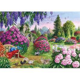 Flora & Fauna 4 x 500 Piece Jigsaw Puzzle Thumbnail Image 4