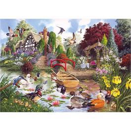 Flora & Fauna 4 x 500 Piece Jigsaw Puzzle Thumbnail Image 2