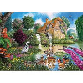 Flora & Fauna 4 x 500 Piece Jigsaw Puzzle Thumbnail Image 1