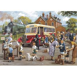 The Evacuees 4 x 500 Piece Jigsaw Puzzle Thumbnail Image 1
