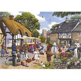 The Evacuees 4 x 500 Piece Jigsaw Puzzle Thumbnail Image 2