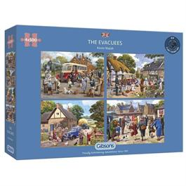 The Evacuees 4 x 500 Piece Jigsaw Puzzle thumbnail