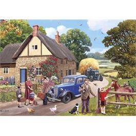 The Evacuees 4 x 500 Piece Jigsaw Puzzle Thumbnail Image 3
