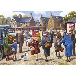 The Evacuees 4 x 500 Piece Jigsaw Puzzle Thumbnail Image 4