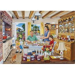 The Farmer's Round 4 x 500 Piece Jigsaw Puzzle Thumbnail Image 1