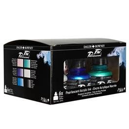 Daler Rowney FW Ink Pearlescent 6 Set Thumbnail Image 3