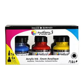 System 3 Acrylic Ink Introduction Set thumbnail
