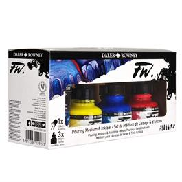 FW Pouring Medium and Ink Set Thumbnail Image 4