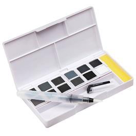 Derwent Tinted Charcoal Paint Pan Set Thumbnail Image 3