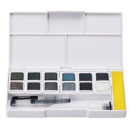 Derwent Tinted Charcoal Paint Pan Set Thumbnail Image 1