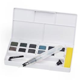 Derwent Tinted Charcoal Paint Pan Set Thumbnail Image 4