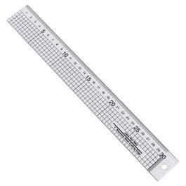 Jakar Acrylic Ruler With Steel Cutting Edge thumbnail